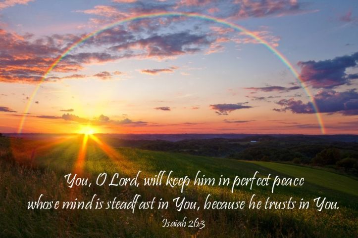 rainbow isaiah 26 3