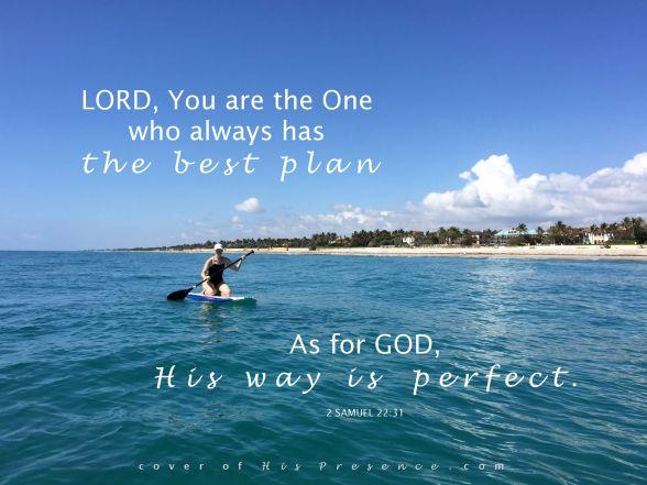 His plan is best