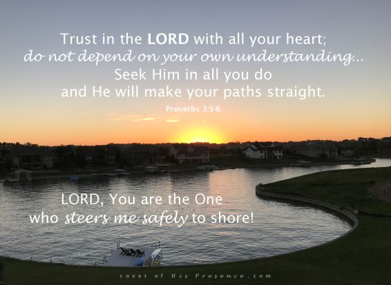 He will lead me